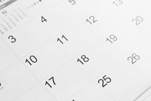 Key Tax Dates